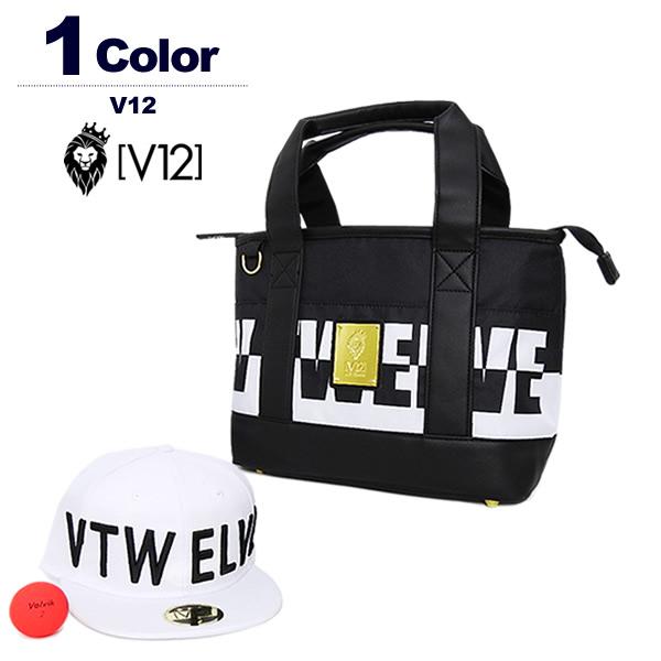 ヴィトゥエルブ カートバッグ トートバッグ メンズ レディース ゴルフ ロゴ ポリエステル V12 V121920-BG01 2019秋冬