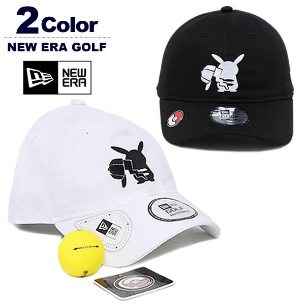 ニューエラゴルフ 帽子 キャップ メンズ 9THIRTY ピカチュウ ポケモン マーカー付き コットン NEWERA Pokemon 2019秋冬