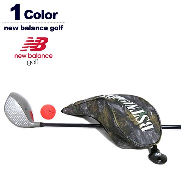ニューバランスゴルフ フェアウェイウッド用 ヘッドカバー メンズ レディース ツリー柄 newbalance 012-9284008 2019秋冬
