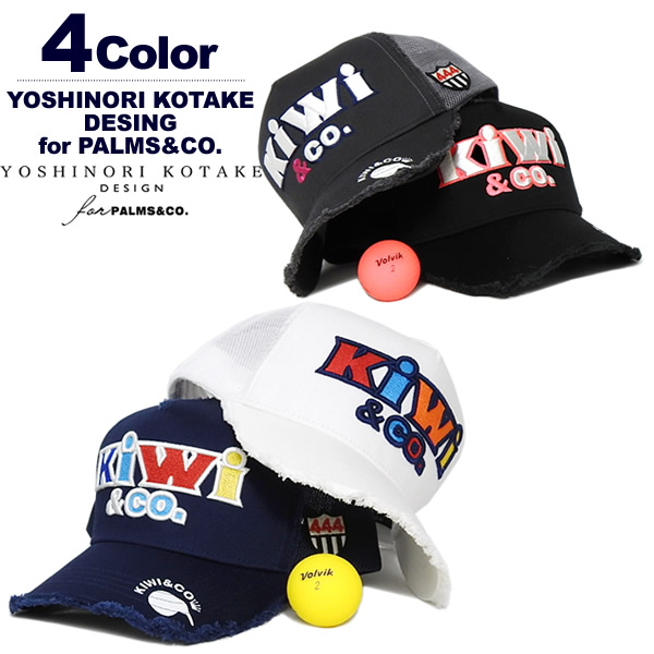 Y.KOTAKE for PALMS&CO.(ヨシノリコタケパームスアンドコー)キャップ