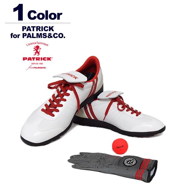 PATRICK for PALMS&CO.(パトリックパームスアンドコー)ゴルフシューズ