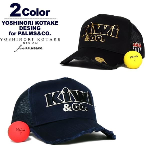 Y.KOTAKE DESIGN for PALMS&CO. (ヨシノリコタケパームスアンドコー)キャップ