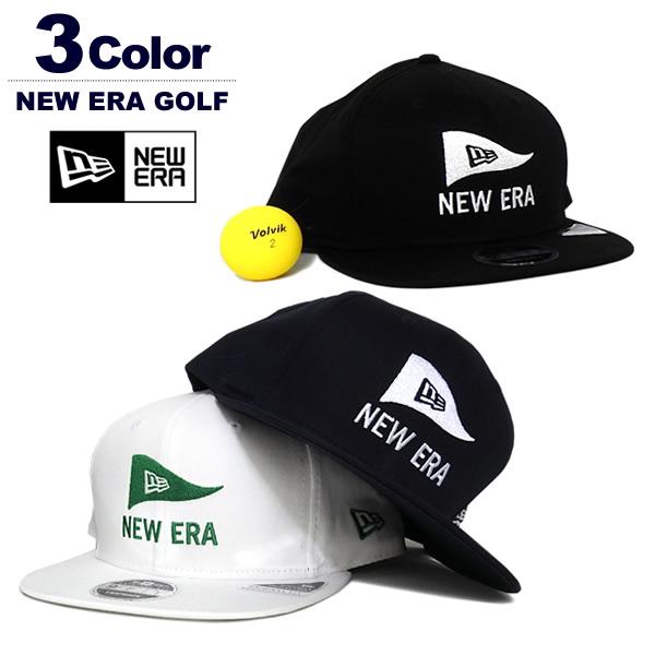 NEW ERA GOLF(ニューバランスゴルフ)キャップ
