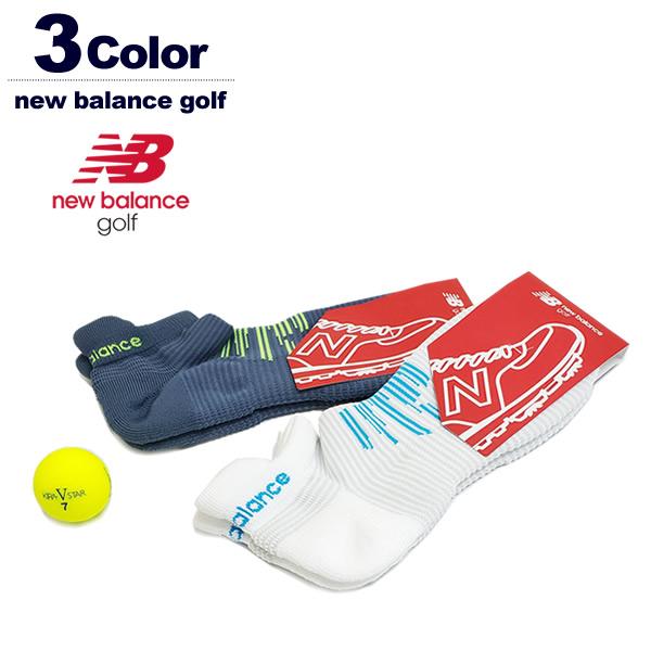 new balance golf ソックス