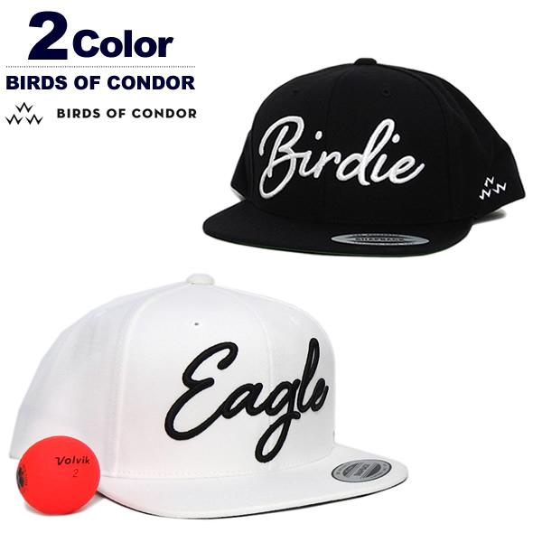 BIRDS OF CONDOR(バースオブコンドル)キャップ