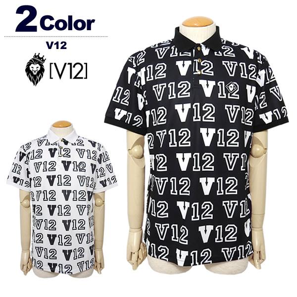 V12(ヴィトゥエルブ)ポロシャツ