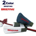 BRIEFING GOLF[ブリーフィングゴルフ]PATER COVER パターカバー SNOW/BLUE 日本正規品 日本正規品
