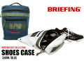 BRIEFING GOLF[ブリーフィングゴルフ]SHOES CASE シューズケース SNOW/BLUE 日本正規品