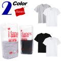 Hanes[ヘインズ]2枚組クルーネックTシャツ