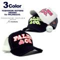 YOSHINORI KOTAKE DESIGN for PALMS&CO. [ヨシノリコタケデザイン パームスアンドコー]PALMS TWILL CAP 6/ツイルメッシュキャップ【2017秋冬】