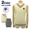 【SALE 20%OFF】edit of KIWI[エディットオブキウィ]チルデンライクメリノVネックベスト/Tildenlike Merino V Vest【2017年秋冬】