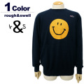 rough&swell[ラフアンドスウェル]rough&swell[ラフアンドスウェル]BIG SMILE KNIT/ウールコットンニット【2017年秋冬】