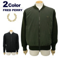 【SALE 30%OFF】FRED PERRY[フレッドペリー]異素材使いボンバーニットジャケット【2017年秋冬】