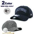 NEW ERA GOLF[ニューエラゴルフ]9FORTY A-frame Tweed/ツイードキャップ【2017年秋冬】