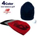 【SALE/セール30%OFF】new balance golf[ニューバランスゴルフ]NBロゴビーニーキャップ【2017年秋冬】