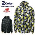 new balance golf[ニューバランスゴルフ]ポリゴンカモ柄3WAYジャケット【2017年秋冬】