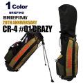 BRIEFING GOLF[ブリーフィングゴルフ]20TH CR-4 #01 CRAZY/20周年記念スタンド式キャディバッグ 日本正規品【2018年】