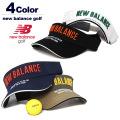 new balance golf(ニューバランスゴルフ)バイザー