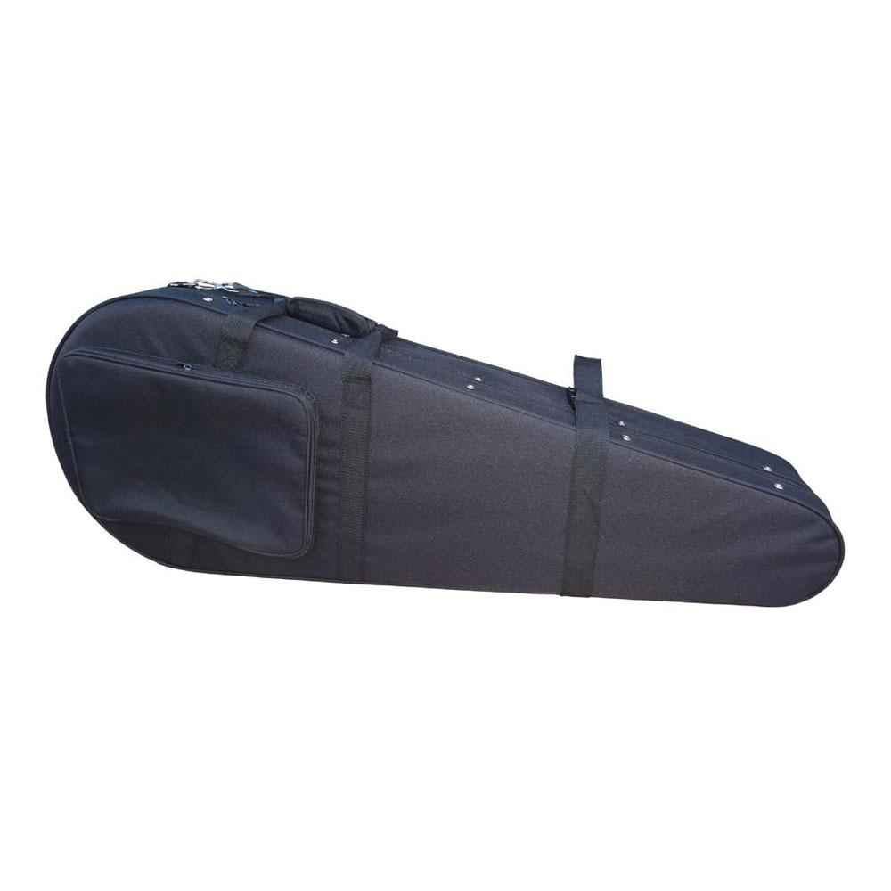 リュック式 背中に背負える 軽量 バンジョーケース  5弦バンジョー用 セミハードケース 【 BANJO Case SEMI HARD  】