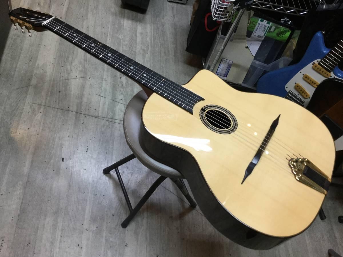 Altamira Guitars Gipsy Jazz M-01 PU マカフェリースタイル ジプシージャズギター マイク付き アルタミラ・ギターズ