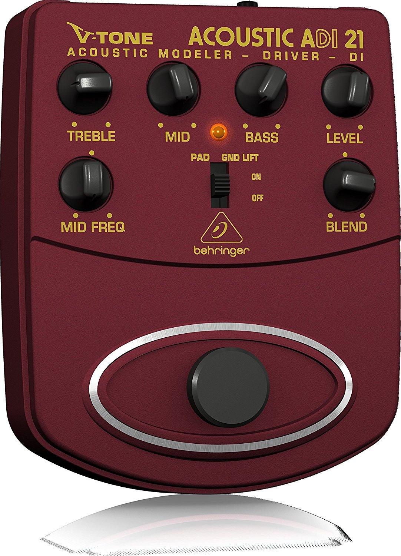 BEHRINGER ADI21 V-Tone Acoustic アコギ用プリアンプ 【 アコギPU取り付け相談も! 】
