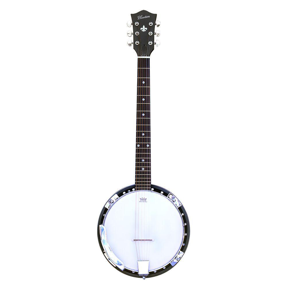 Blanton BB-15G ギターバンジョー  マイク搭載アンプに繋げる GUITAR Banjo 【 ブラントン BB15G  】