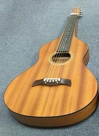 Blanton ワイゼンボーン タイプギター BW-500 マイク搭載可能 【 ブラントン Weissenborn Style Guitar  BW500 】【 アンプに繋げる LIVE仕様】