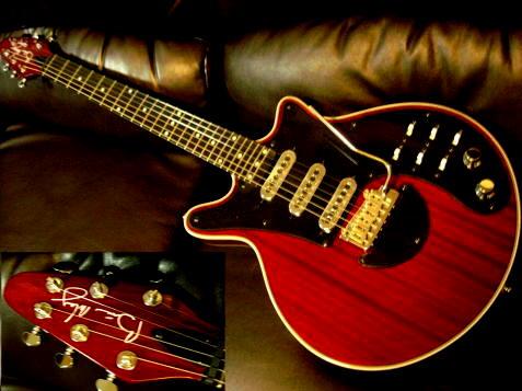Brian May Guitars Red Special BM-RED コンデンサー搭載 【 ブライアン メイ レッド スペシャル 】