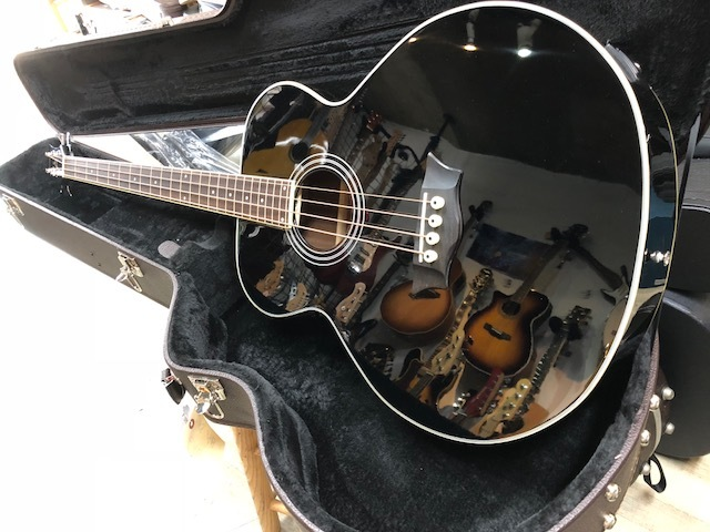 Dean エレアコベース BLACK ブラック 黒  EAB Electric Acoustic Bass BLK 【 ディーン アコースティックベース アコベ  】
