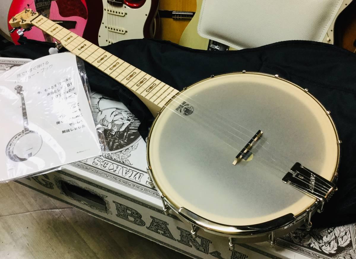 Deering GOODTIME AMERICANA BANJO ディーリング アメリカン バンジョー マイク付き 軽量 5弦バンジョー GAM