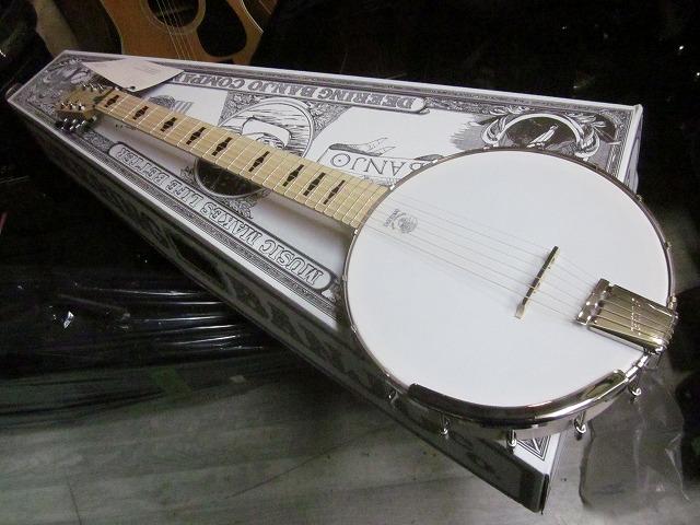DEERING GOODTIME  G6S  ギターバンジョー  PU.搭載 アンプに繋げる GUITAR Banjo 【 ディーリング 6弦ギターバンジョー PU.マイク搭載 】