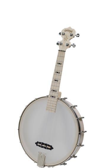 【 お取り寄せ商品 】 DEERING TUK Goodtime Banjo Ukulele TENOR  バンジョーウクレレ マイク搭載! 【 アンプに繋げる ディーリング Banjo Ukulele PU搭載 】 Banjo-Ukulele