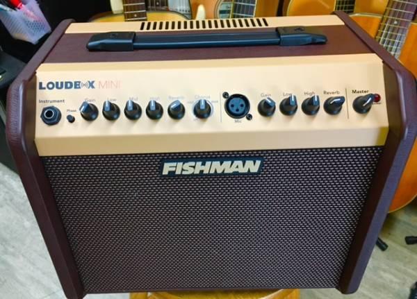 FISHMAN Loudbox Mini Amp LBXMINI フィッシュマン アコギアンプ ラウドボックス ミニ アコースティックアンプ