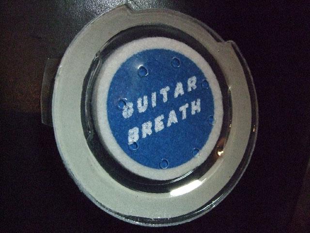 冬場の乾燥対策! ギターの乾燥防止!水分補給  ギターブレス 【GUITAR BREATH 2】