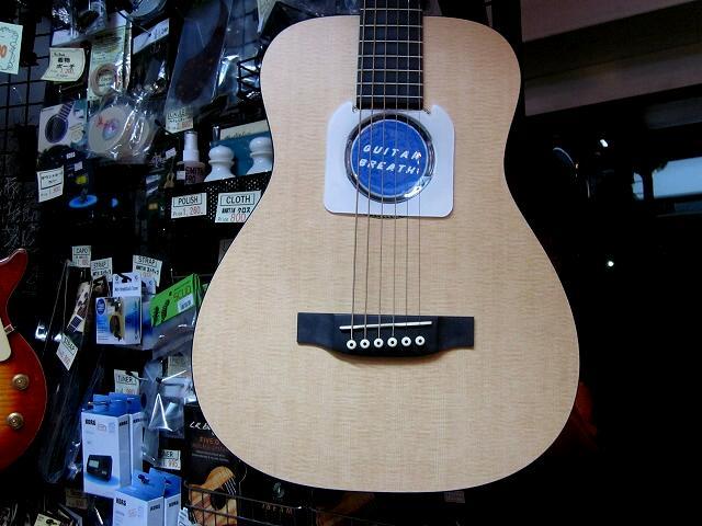 冬場の乾燥対策! ミニギターの乾燥防止!水分補給  ギターブレス ミニ 【GUITAR BREATH MINI 】