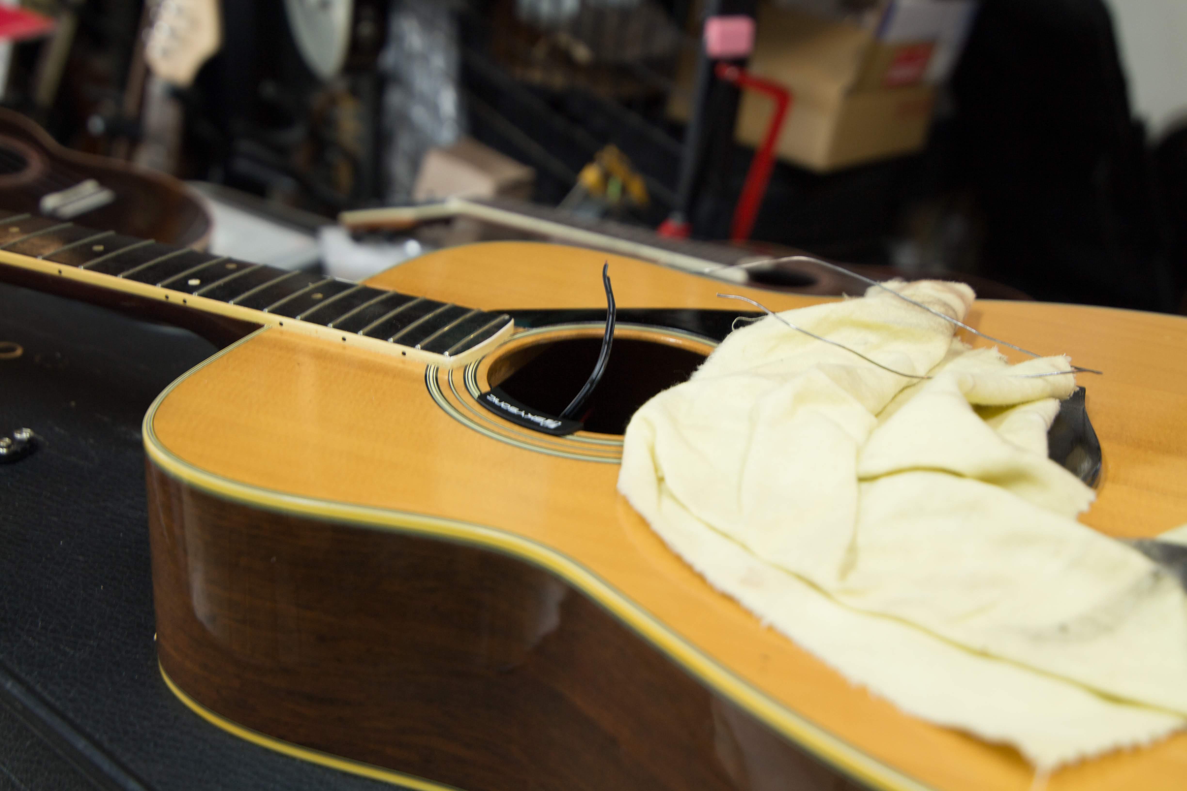 アコギ ピックアップ取り付け相談 アコースティックギター ピックアップ ご相談