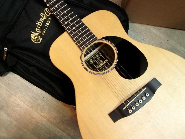 【要在庫確認】 MARTIN LX1E ピックガード付 エレアコモデル マイク搭載! 【 アンプに繋げる ミニマーチンギター リトルマーチン Mini Guitar LX-1E 】
