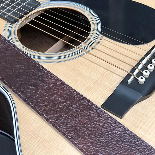 MARTIN マーチン ギターストラップ Soft Leather Strap No. 18A0100 GUITAR STRAP