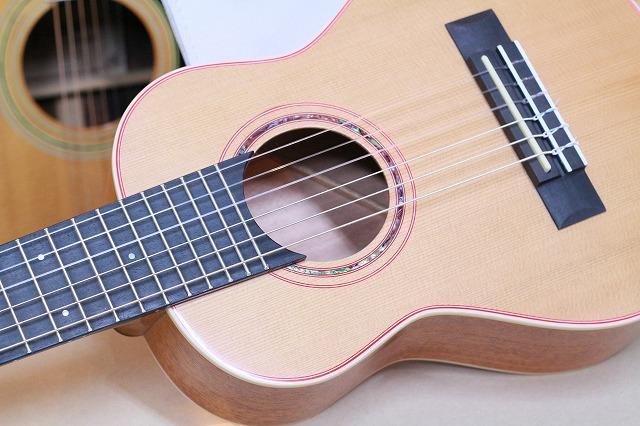 Gill ギタレレType オール単板 ミニナイロンギター アンプにつなげるマイク付! ミニ エレガット ギター