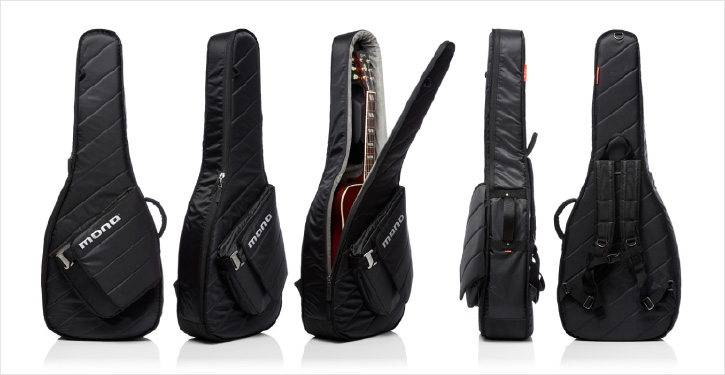 "MONO M80 SAD Acoustic GUITAR CASE  ""GUITAR SLEEVE""  (Black Or ASHGRAY ) モノ アコギ ギターケース M-80  ブラック or アッシュ グレイ"