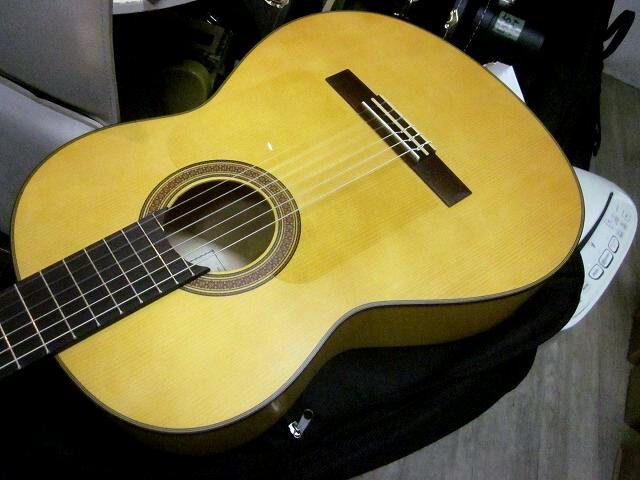 YAMAHA CG182SF マイク搭載! アンプに繋げる エレガット仕様 ヤマハ フラメンコギター CG-182SF