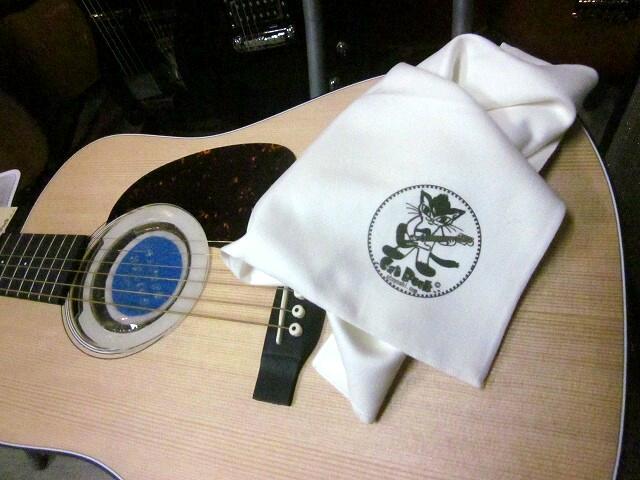 キャットロック ギタークロス Cat Rock GUITAR CLOTH ギターメンテナンス用品