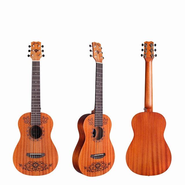 Cordoba ミニ ナイロン弦ギター  Coco Mini Guitar MH 580mm コルドバ ミニ クラシックギター アンプにつなげるマイク付! ミニ エレガット ギター