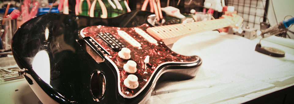 ギター修理 ギターリペア 楽器修理 調整 メンテナンスご相談