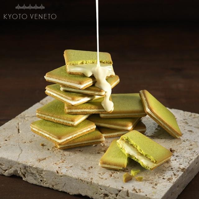 京都土産 グラッ茶  抹茶ティラミス風味ラングドシャ