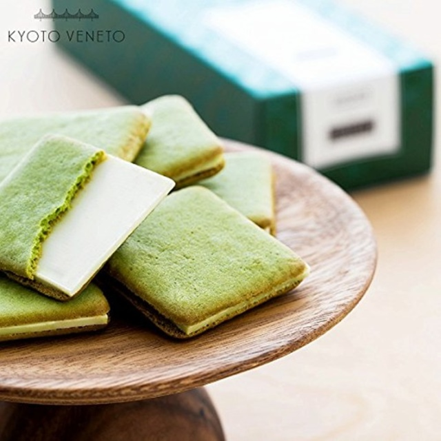 関西土産 京都 グラッ茶(抹茶ティラミス風味ラングドシャ) 6枚入