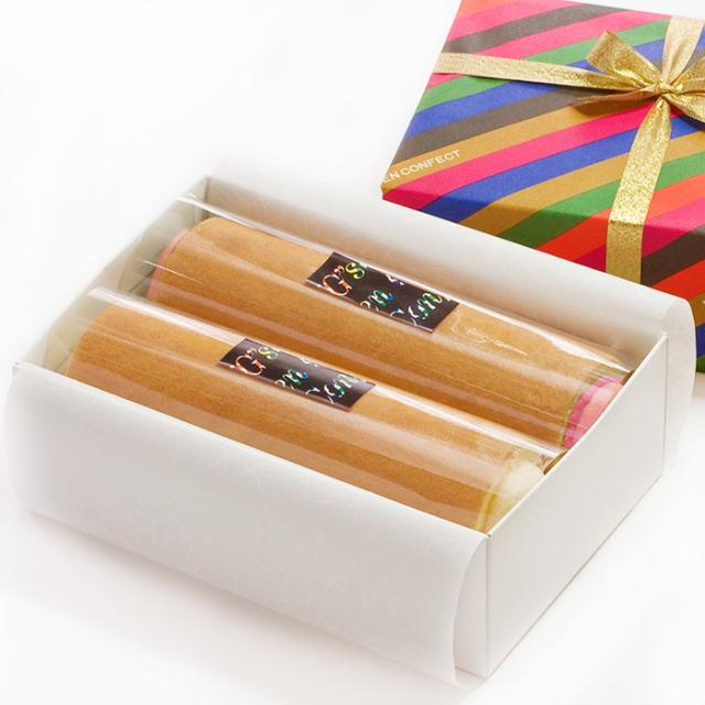 G線コンフェクト ロールケーキ セット (要冷凍) 選べる2種類 生クリーム 抹茶 いちご 洋菓子 焼菓子 美味しい かわいい おしゃれ 贈答品 プレゼント ギフト 賞味期限 母の日 父の日 敬老の日 クリスマス