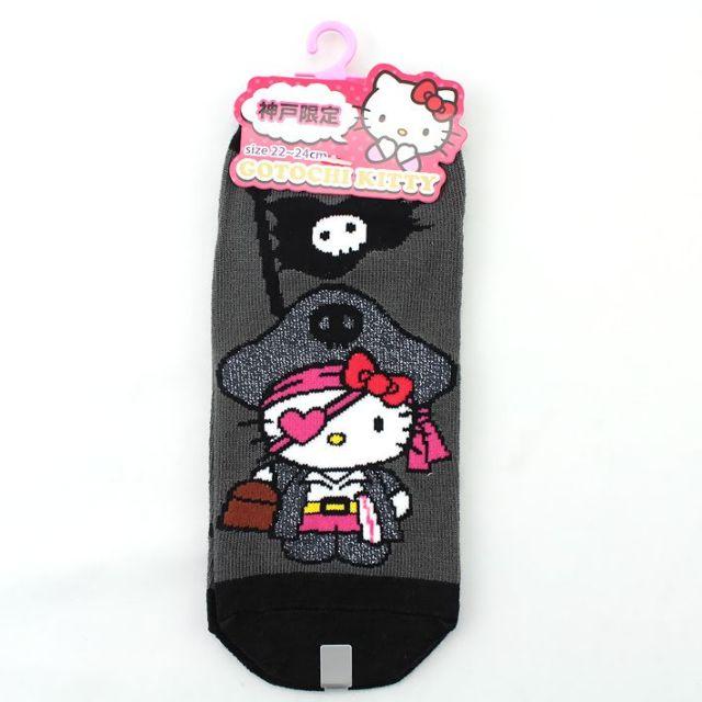 神戸限定雑貨 神戸パイレーツKT靴下(BK)1P (22~24cm)
