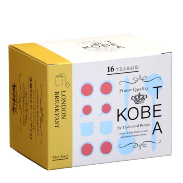 神戸土産 神戸紅茶 生紅茶 ロンドンブレックファスト16P
