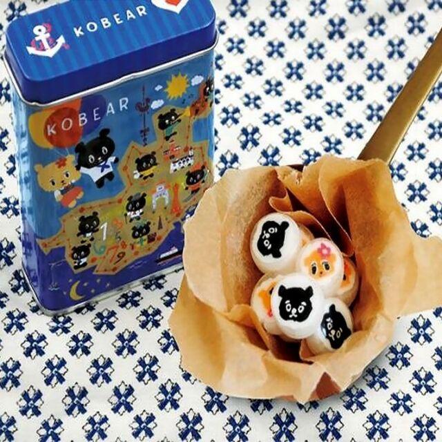 神戸土産 コーベアーキャンディー10個入り KB-040 神戸ご当地キャラ 洋菓子 飴 ハットトリック おみやげ  帰省土産